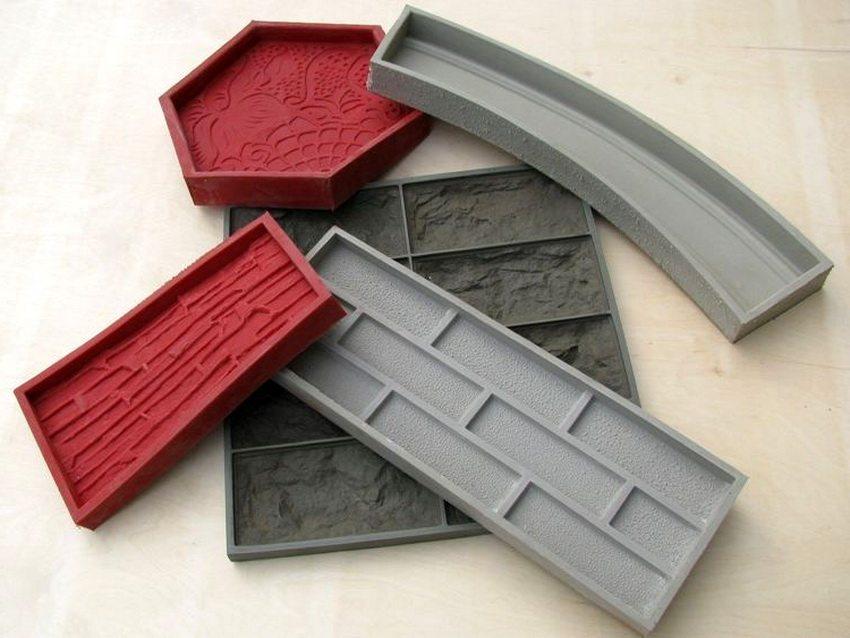 Примеры силиконовых форм различных размеров