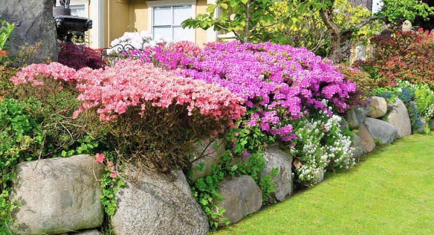 Цветок из камней своими руками фото 126