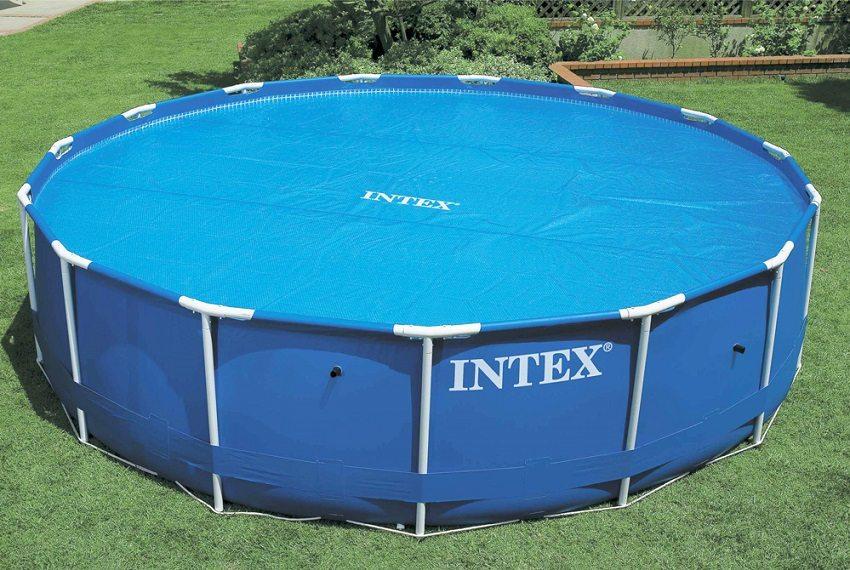 Обогревающее покрывало для бассейна Intex