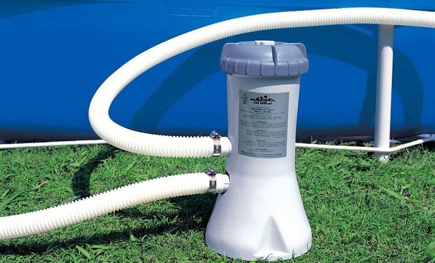 Проточный нагреватель для подогрева воды в бассейне