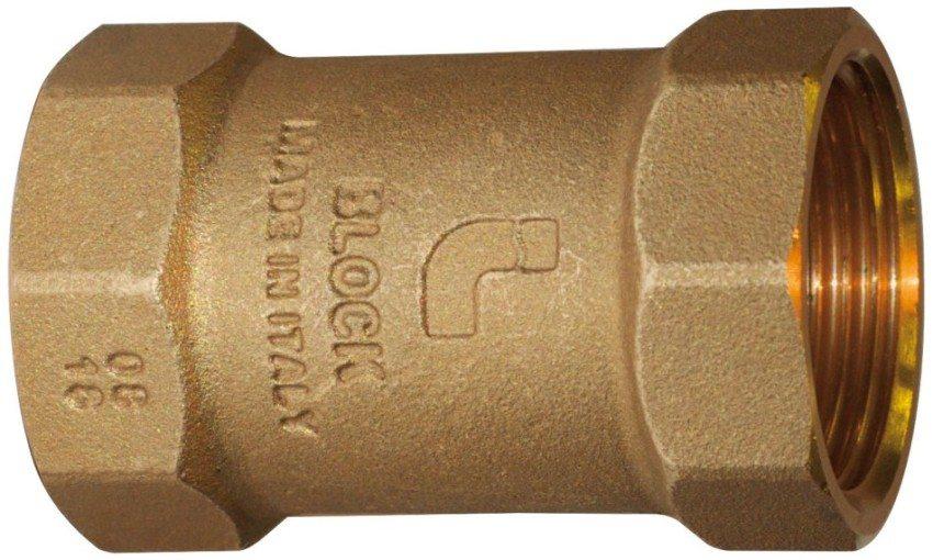 Обратный клапан пружинный с пластиковым затвором, производитель ITAP
