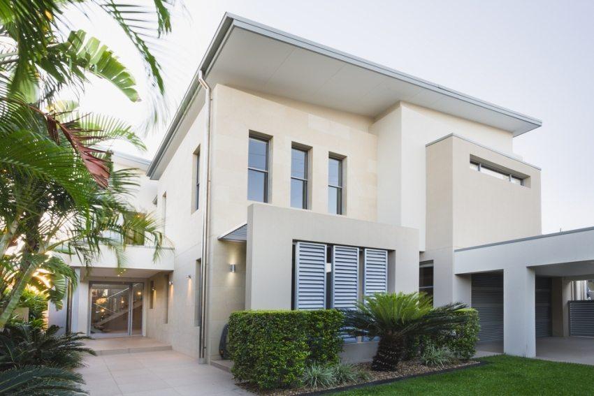 Современные дома имеют не только функциональную планировку, но и презентабельный внешний вид