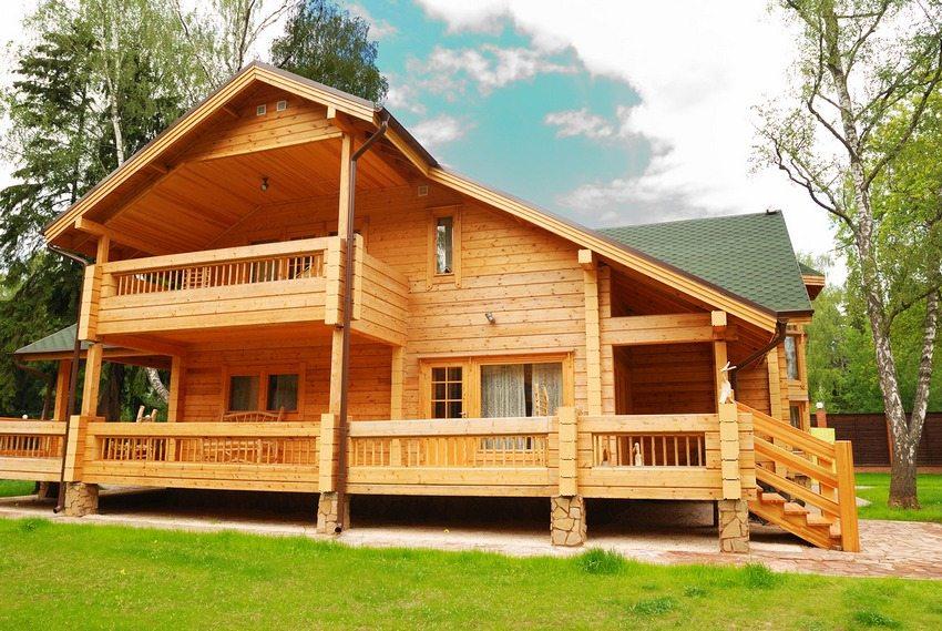 Деревянное строение отличается экологичностью и естественной красотой