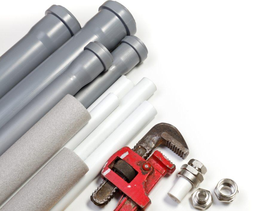 Для труб различных диаметров используют разные виды фитингов