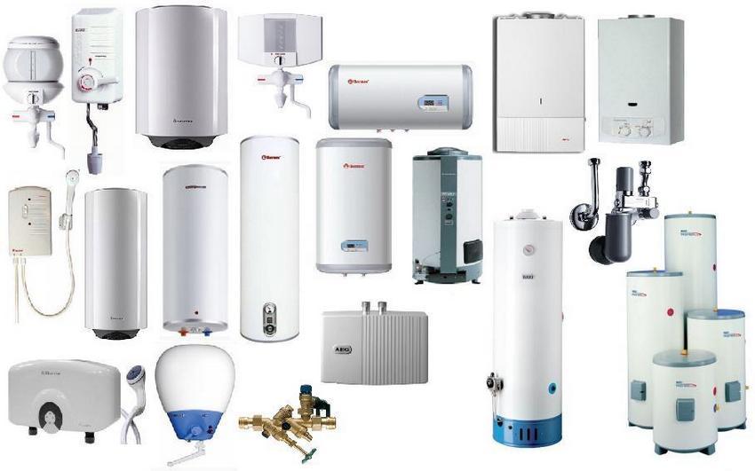 Современный рынок предлагает огромное количество водонагревателей самых разных форм и размеров