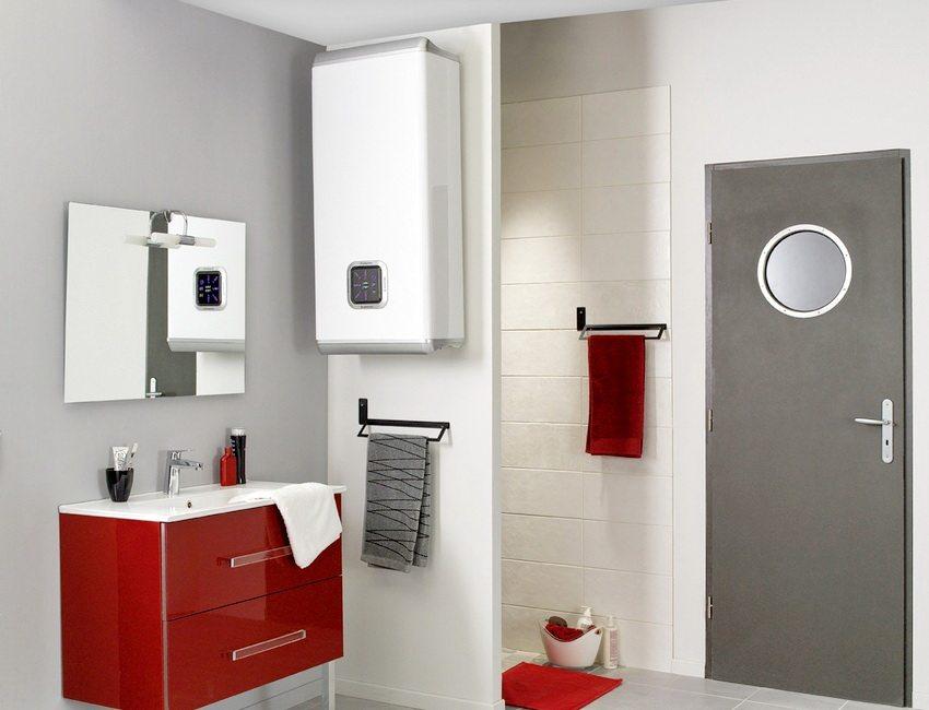 Чаще всего электрические водонагреватели устанавливают в ванных комнатах