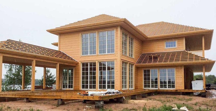 Деревянный брус: лучшее решение для дома на загородном участке