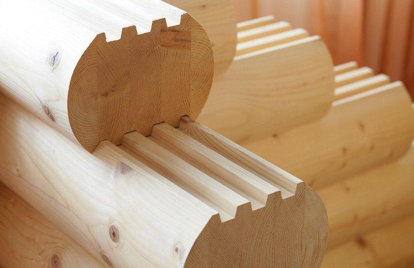 Для производства клееного бруса используется древесина хвойных пород