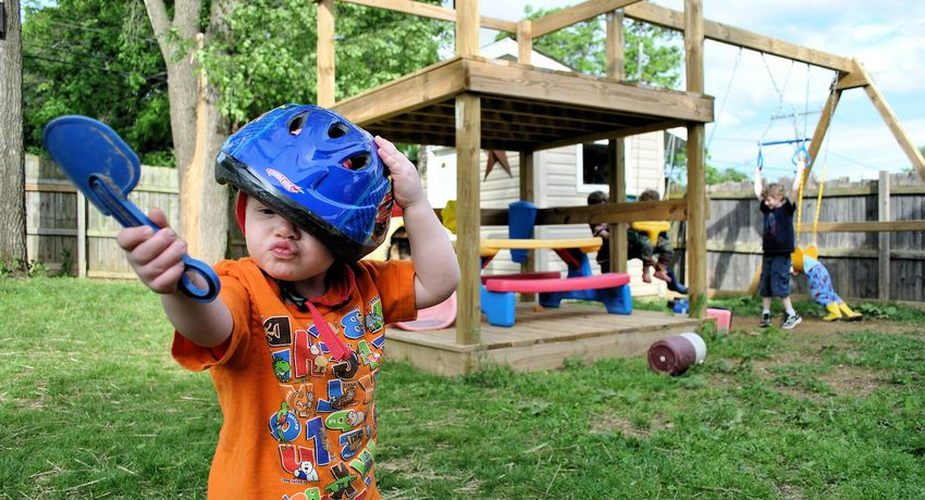 Детский спортивный комплекс для дачи: место для активного отдыха ребенка