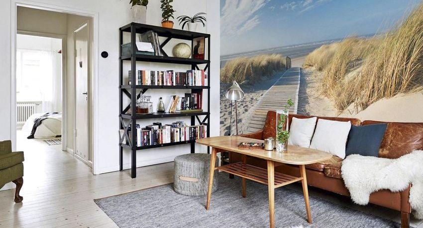Фотообои, расширяющие пространство, в дизайне современной квартиры