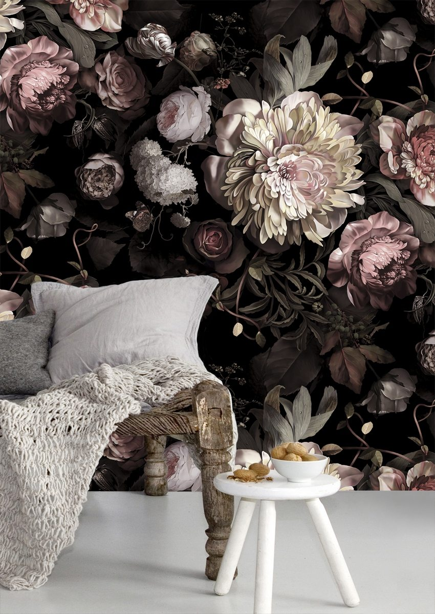 В зависимости от рисунка и цвета фотообои могут по-разному влиять на ощущение пространства в помещении