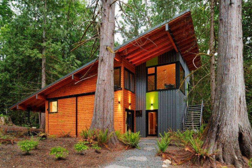 Для жилого дома необходимо сооружать вентилируемый тип крыши