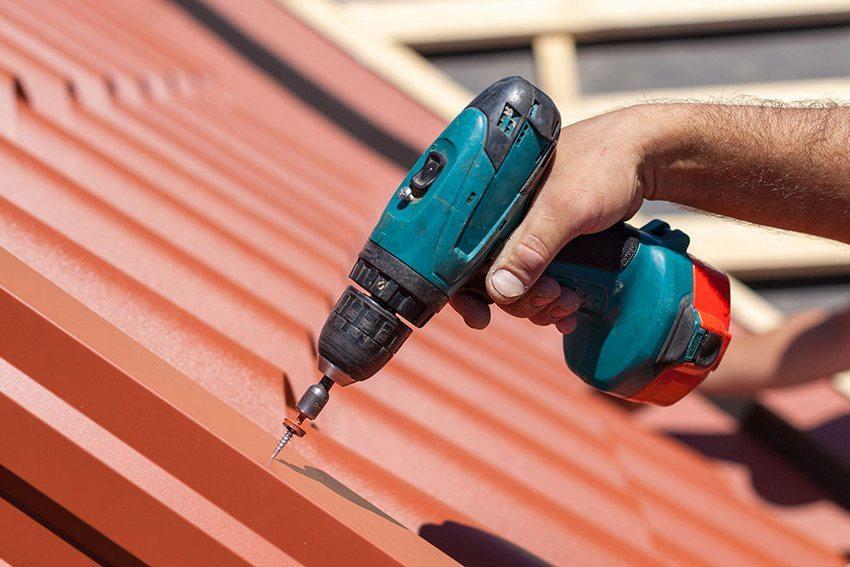 Процесс строительства односкатной крыши своими руками
