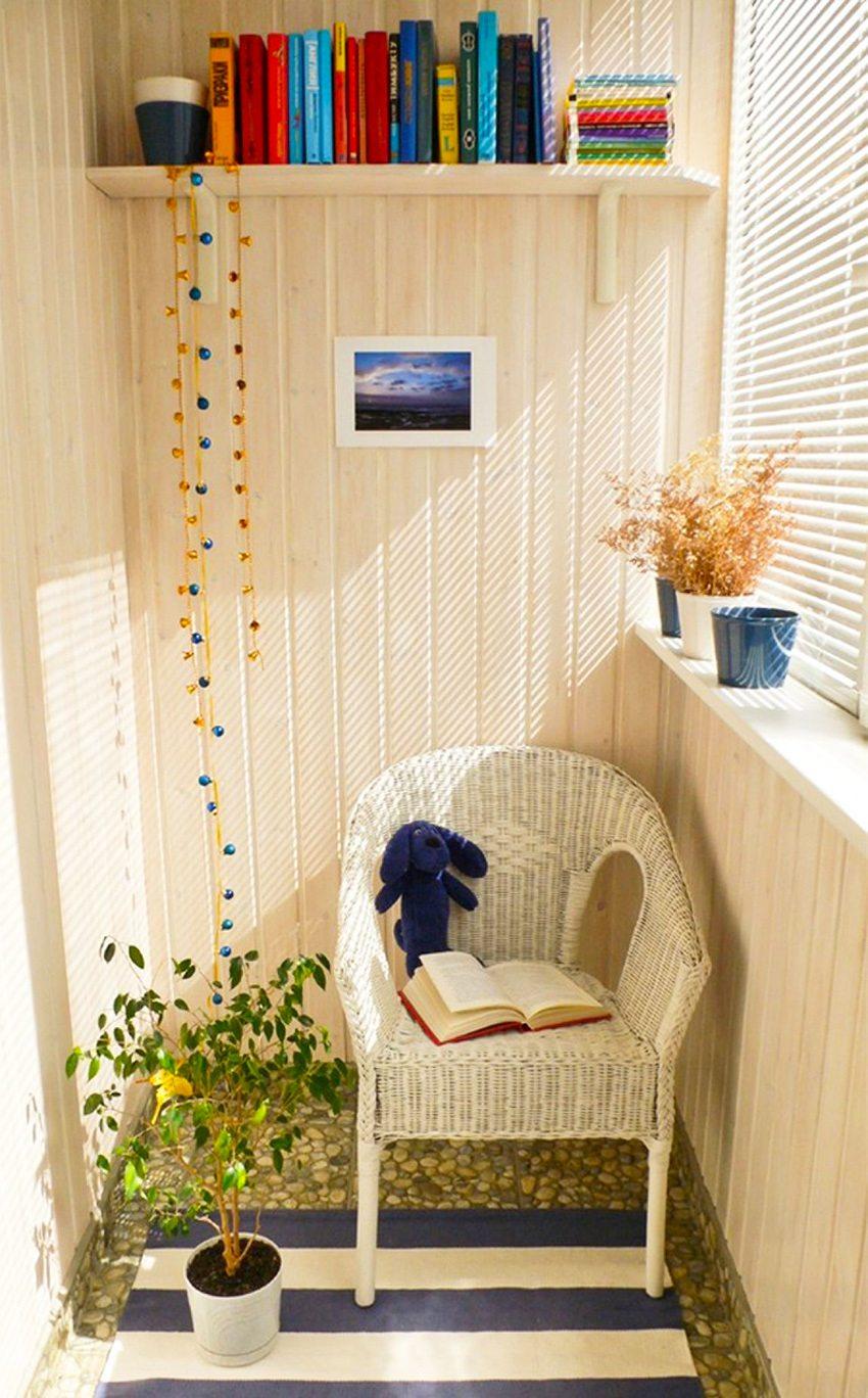 """Балкон, превращенный в комнату для ребенка."""" - карточка поль."""
