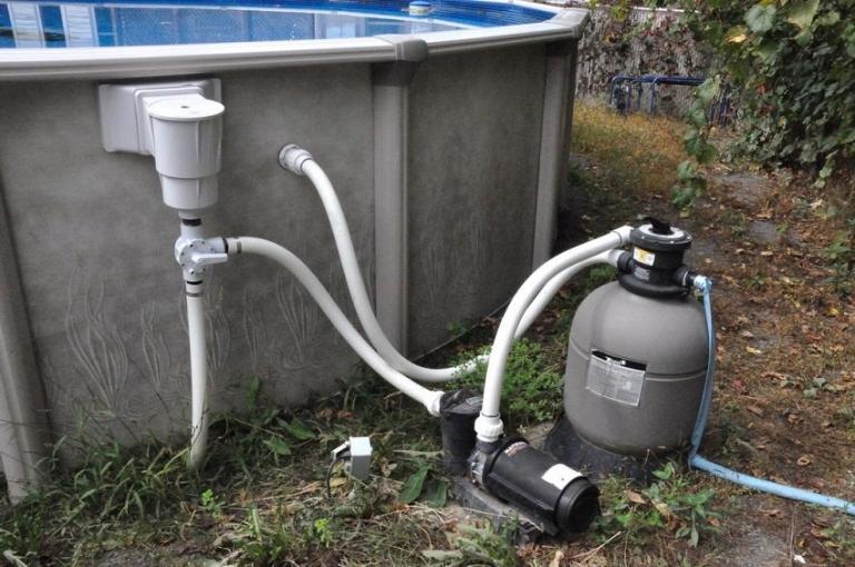 Фильтрация воды в бассейне