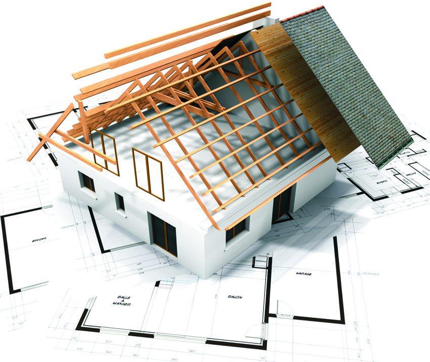 При проектировании мансарды следует также подумать о кровле и утеплении крыши