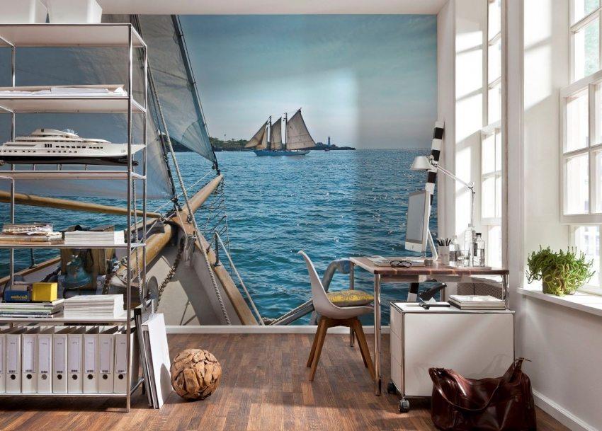 3D обои с изображением моря дарят возможность наслаждаться потрясающим видом каждый день