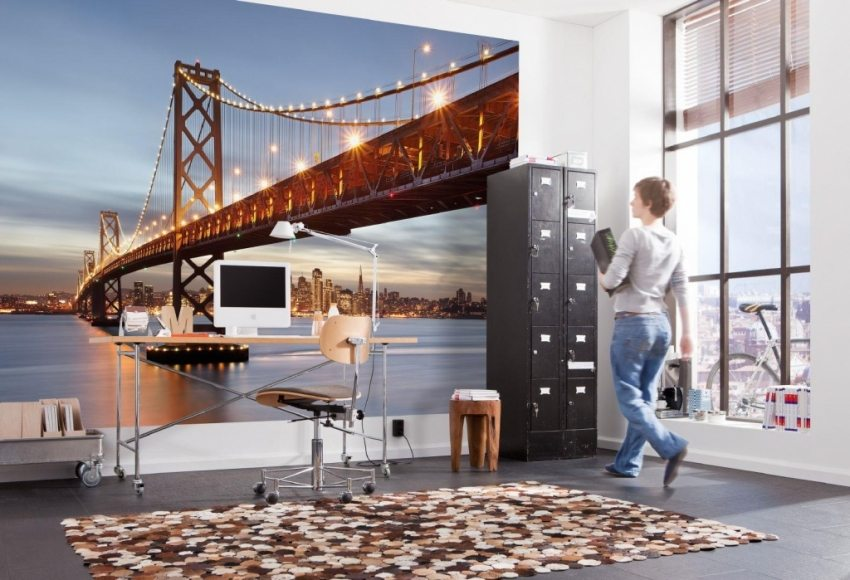 3Д фотообои на стену – тренд в оформлении интерьеров