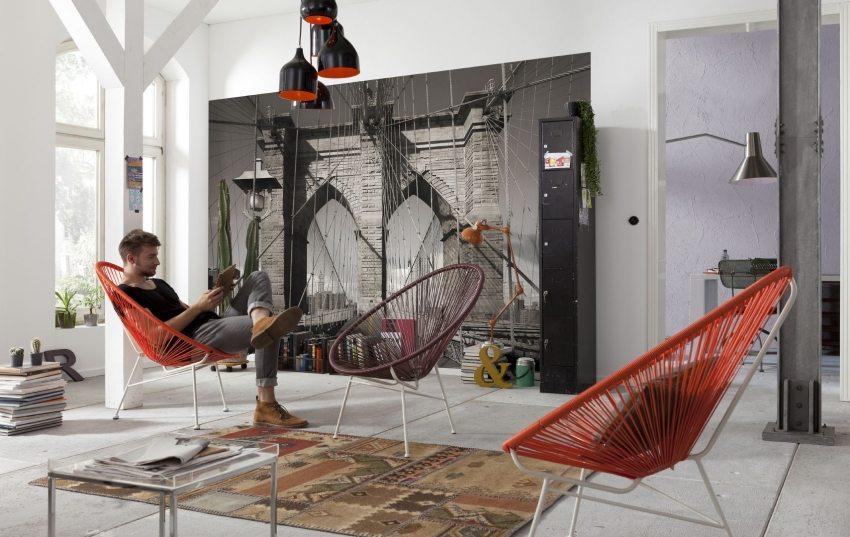 Использование 3D полотен в современном интерьере