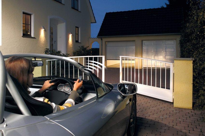 Въездные автоматические ворота – лучшее решение для безопасности дома