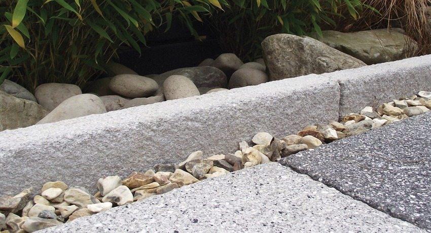 Как кладут бордюрный камень плита железобетонная п 4