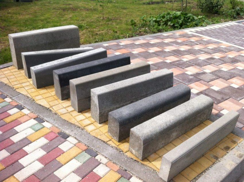 Виды бордюров для тротуарной плитки