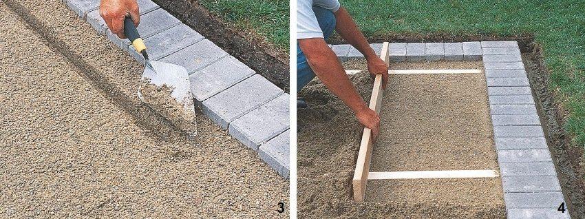 Подготовка основания для укладки последующих рядов плитки