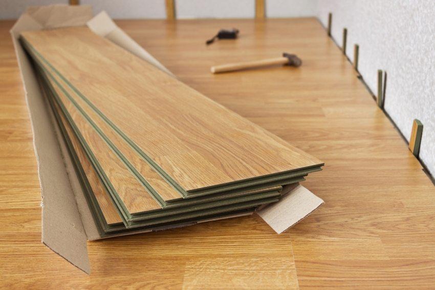 Ламинат – практичное решение трудного вопроса при выборе напольного покрытия