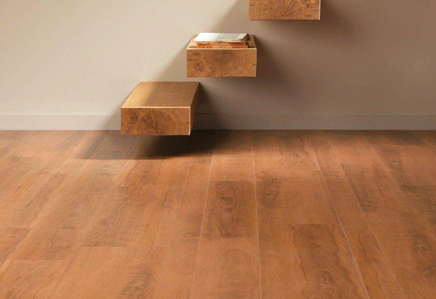 Ламинат, стилизованный под массивную деревянную доску
