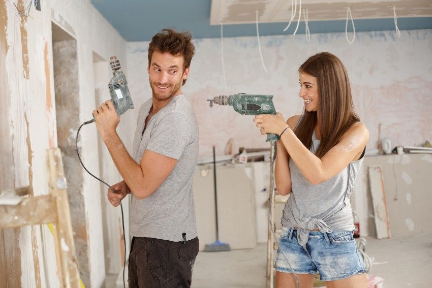 Проводить ремонтные работы можно только после получения соответствующего разрешения в БТИ