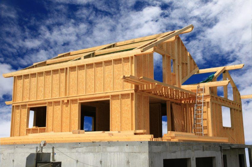 Строительство дома из ОСП плит