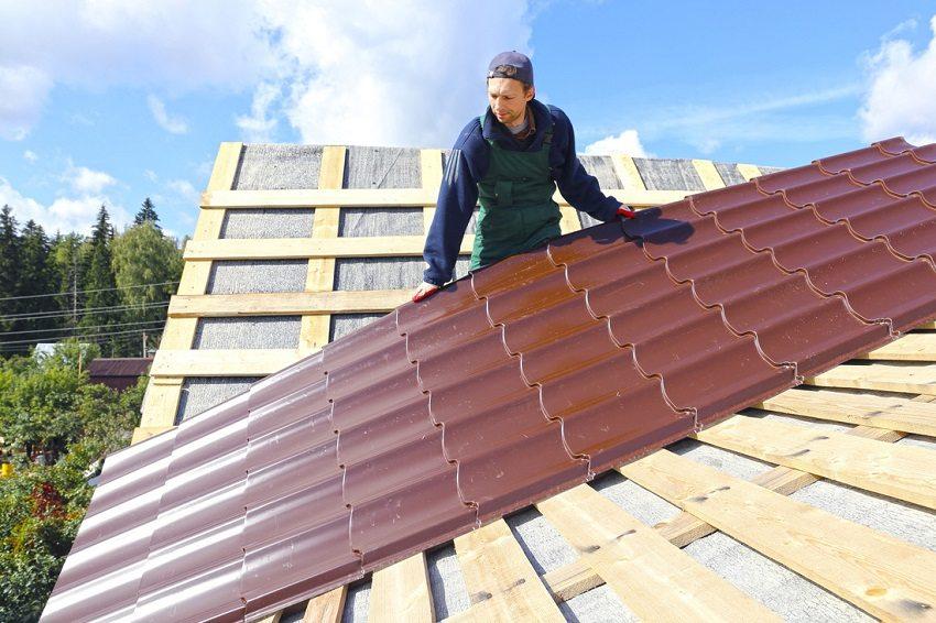 Размеры листа металлочерепицы для крыши: цена и параметры выбора, монтаж материала