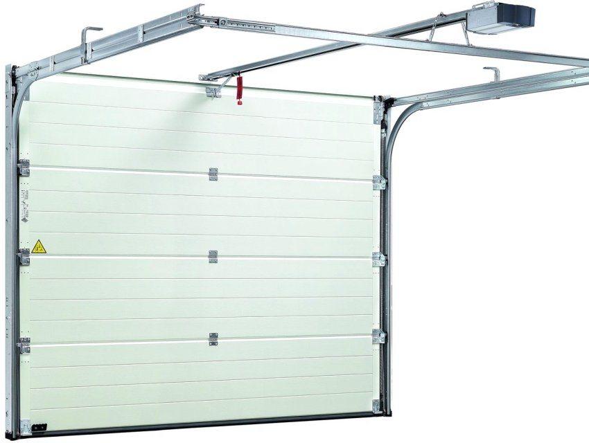 Конструкция гаражных секционных ворот