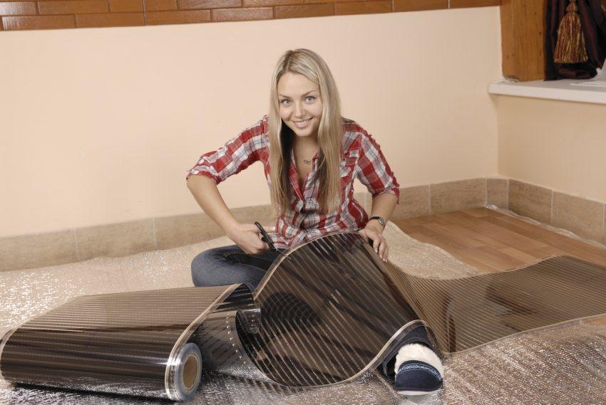 Инфракрасный теплый пленочный пол – практичное решение для тепла в доме