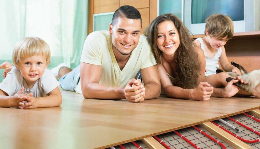 Теплый пол – залог уюта и комфорта в доме