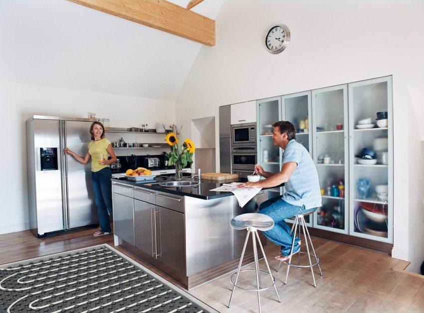 Теплый пол поможет сделать дом или квартиру более уютной и теплой