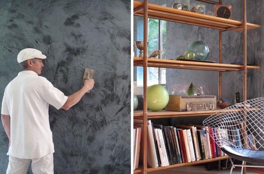 Декоративное покрытие - популярный способ отделки стен