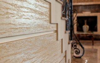 Декоративная штукатурка для внутренней отделки стен и особенности ее применения