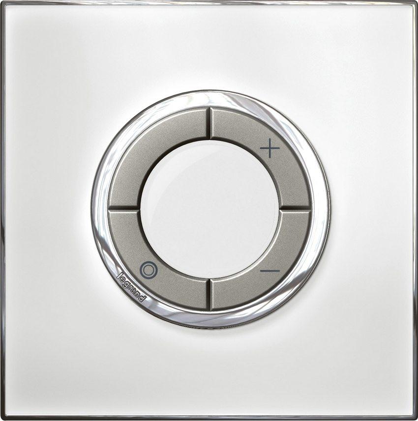 Главные преимущества диммеров Legrand - современный дизайн, надежность и простой монтаж