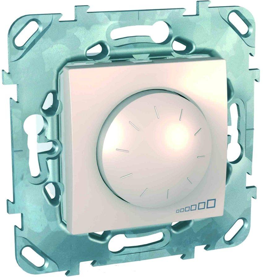 При производстве диммеров Schneider Electric используются качественные и проверенные материалы