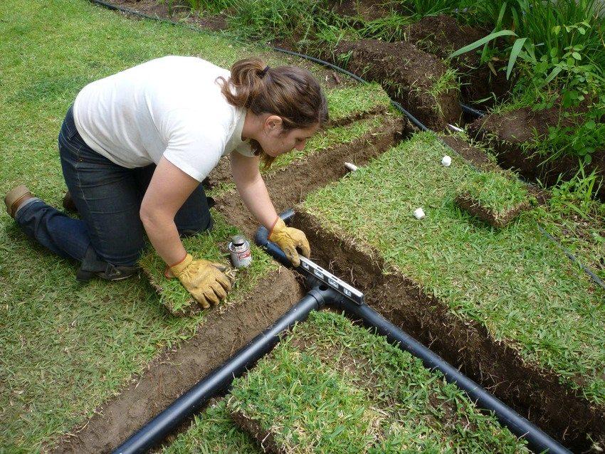 Дренаж на садовом участке своими руками на глинистых почвах 798