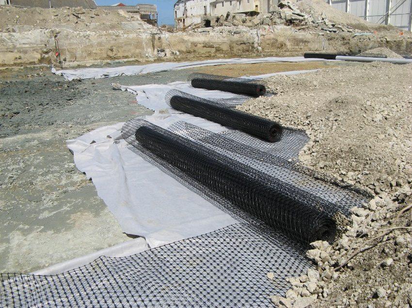 Геотекстиль для дренажа (геоткань): разновидности и особенности материала