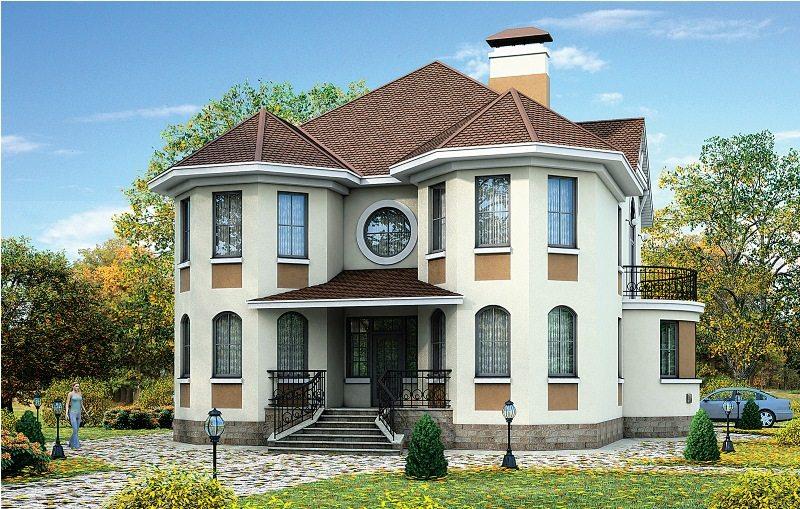 Красивые дома с планировкой фото