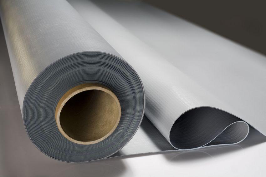 Гидроизоляционный материал мембранного типа