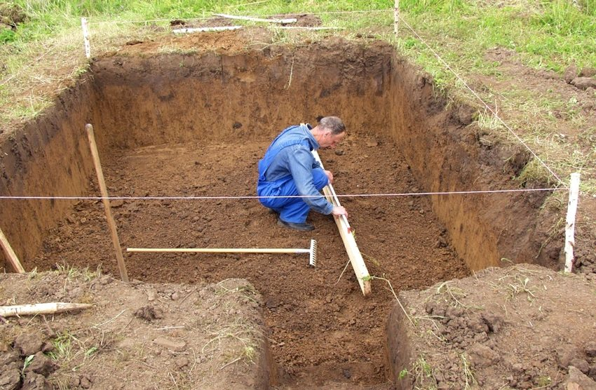 Строительство погреба своими руками. Шаг 1: выкапывание ямы