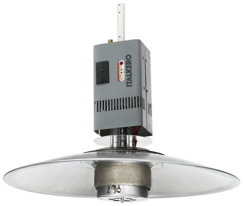 Потолочный газовый обогреватель Italkero Spider с радиусом обогрева 3 м
