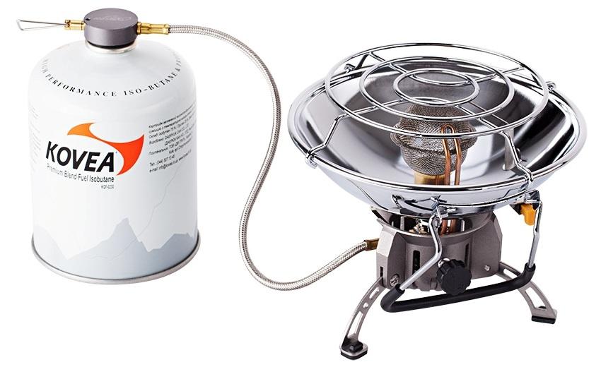 Газовый обогреватель с возможностью приготовления еды Kovea Fire Ball KH-0710