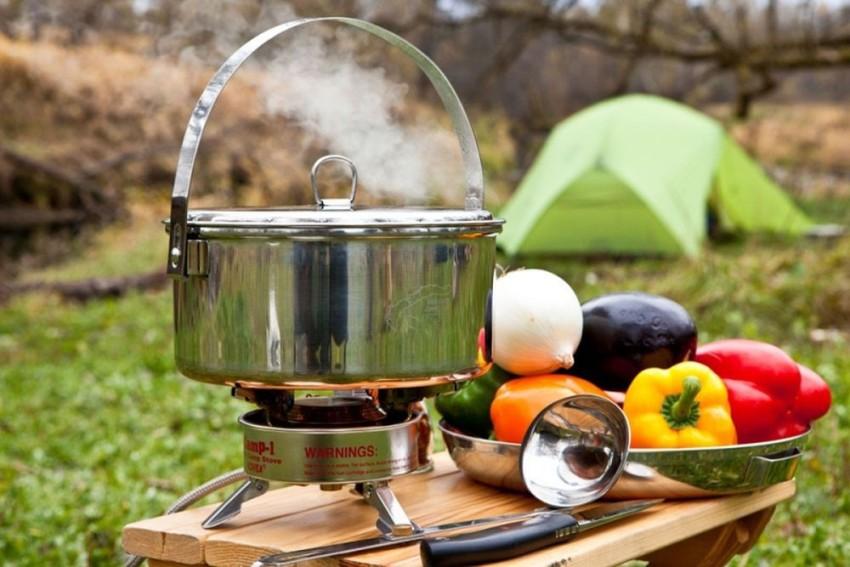 Приготовление пищи с использованием газовой горелки