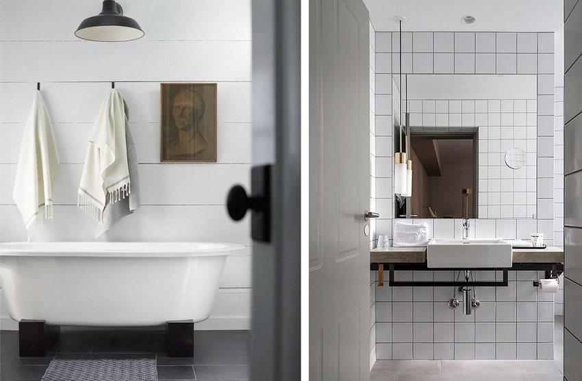 С помощью пластиковых панелей для стен можно создать современный лаконичный дизайн как в ванной, так и в любом другом помещении
