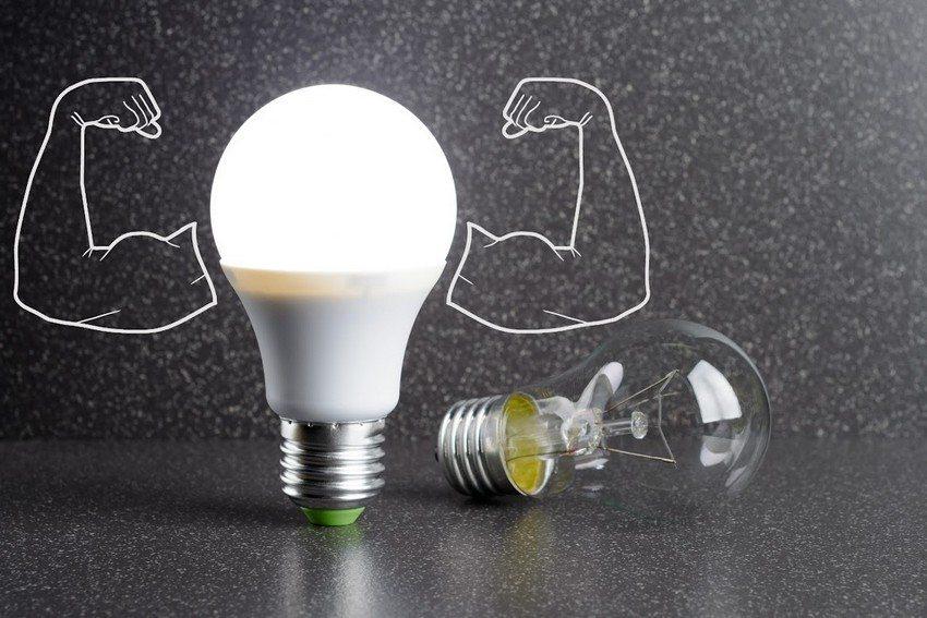 Светодиодные значительно превосходят лампы накаливания по многим параметрам